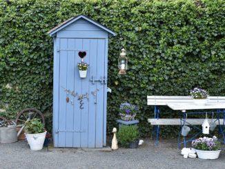 Garten Toilette Möglichkeiten