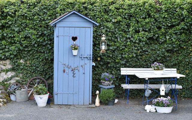 Die Gartentoilette Möglichkeiten Und Preisvergleich