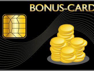 Geld sparen durch Bonuskarten und Treuepunkte