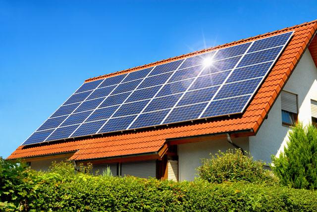 Sonnenenergie Solaranlage