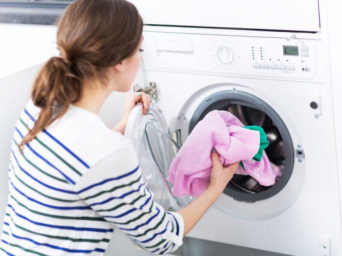 Wäsche waschen sparen