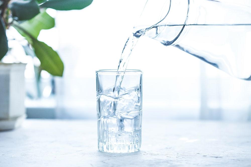 Leitungswasser statt Mineralwasser
