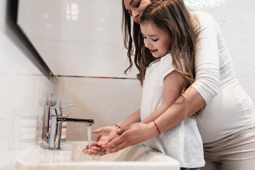 Wasser sparen mit Kindern