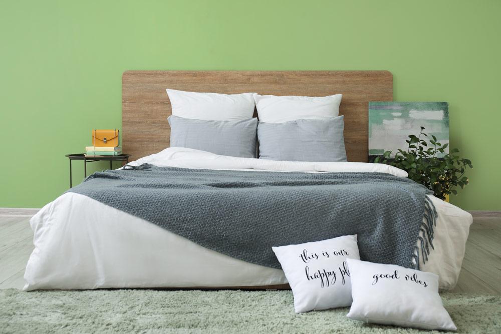 Schlafzimmer gemütlich einrichten: Farbgestaltung